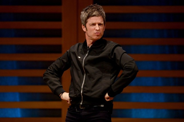 "LONDON, ENGLAND - OCTOBER 23: Noel Gallagher on stage during the launch of his new book ""Any Road Will Get Us There (If We Don't Know Where We're Going)"" at Kings Place on October 23, 2018 in London, England. (Photo by Dave J Hogan/Dave J Hogan/Getty Images)"