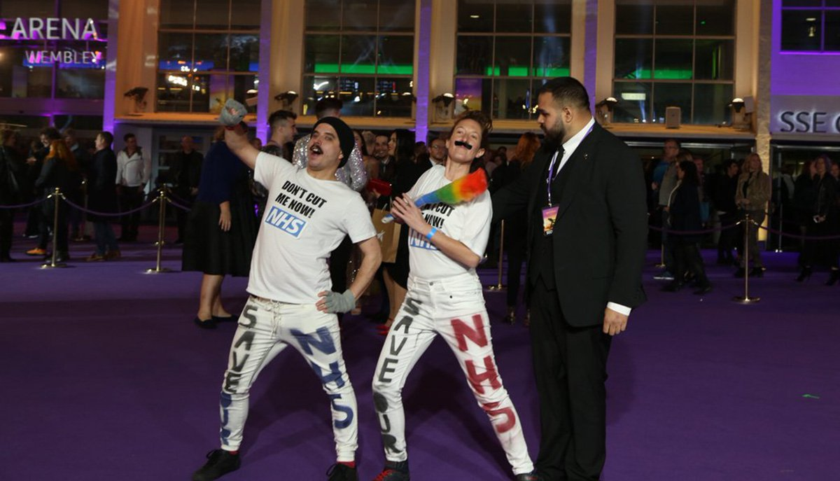 Protesters crash Bohemian Rhapsody premiere with message Freddie Mercury would be proud of