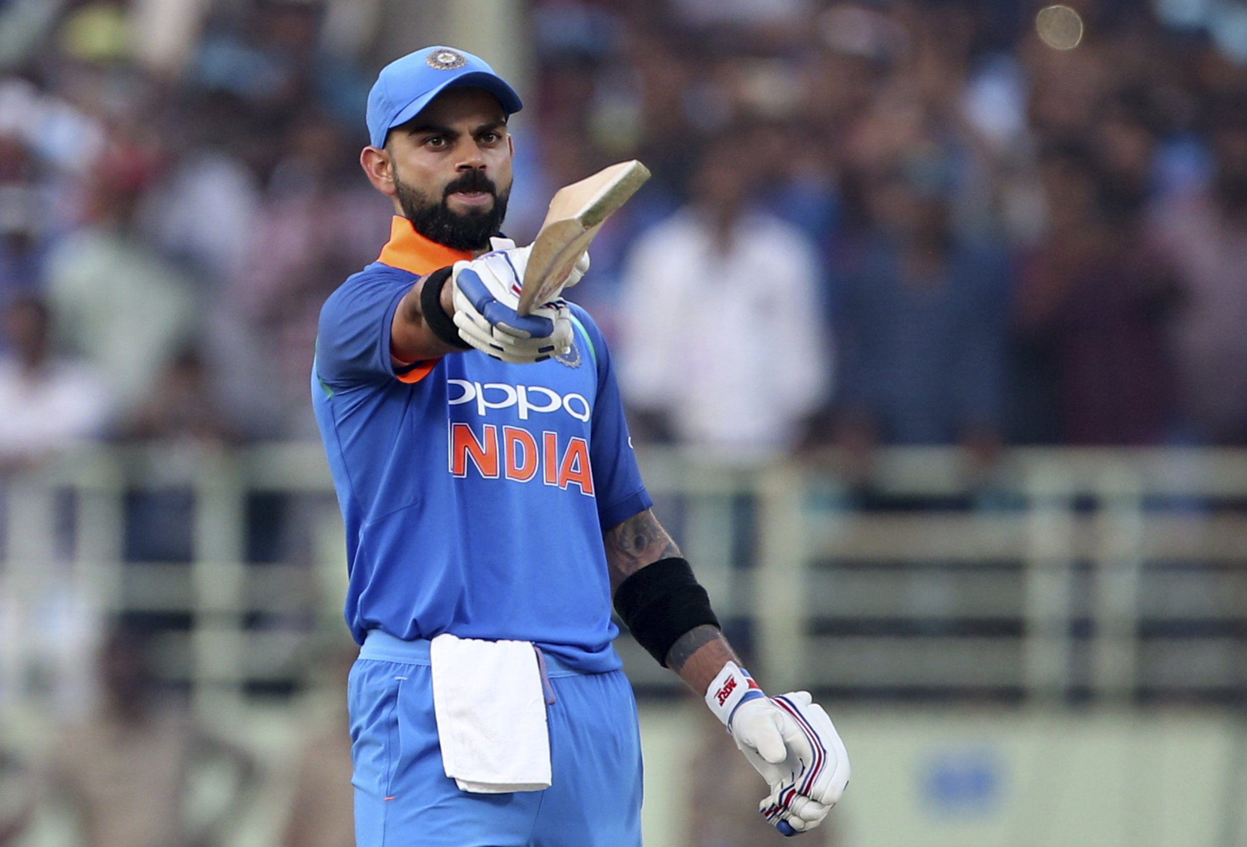 India captain Virat Kohli breaks silence after obliterating Sachin Tendulkar's ODI record