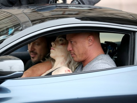 The Rock's stuntman takes to the streets of Glasgow as Fast And Furious spin-off begins filming