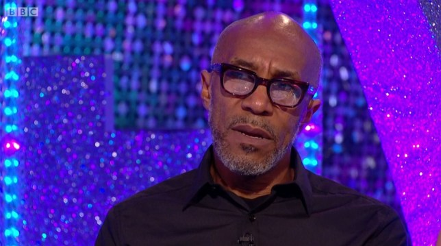 Danny John-Jules appearing on Strictly - It Takes Two. 24.10.2018 (Picture: BBC)