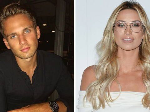 Ferne McCann and Love Island's Charlie Brake 'all over each other' on date night in London