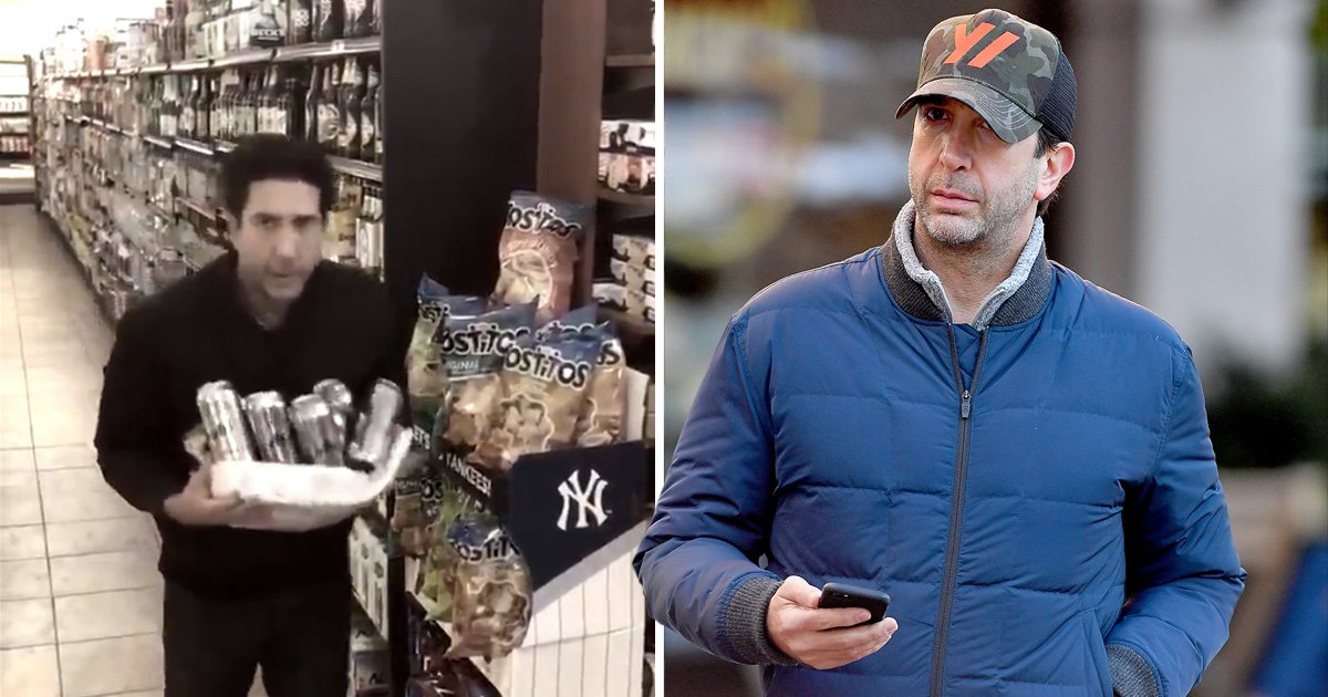 David Schwimmer seen on a coffee run after being cleared as a robbery suspect by British Police in New York City.David had a look-a -like who had robbed a store in England.David has been cleared in the Investigation Pictured: David Schwimmer Ref: SPL5036279 251018 NON-EXCLUSIVE Picture by: Robert O'neil / SplashNews.com Splash News and Pictures Los Angeles: 310-821-2666 New York: 212-619-2666 London: 0207 644 7656 Milan: +39 02 4399 8577 Sydney: +61 02 9240 7700 photodesk@splashnews.com World Rights,