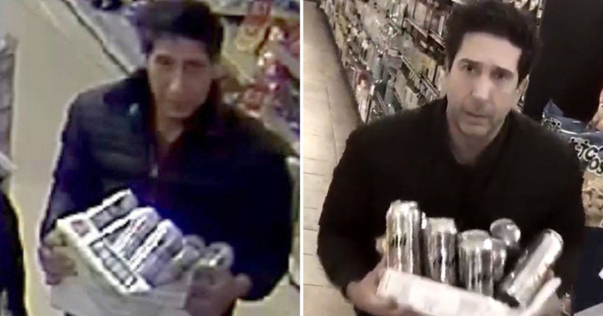 Ross Gellar lookalike suspected of lager theft identified by police
