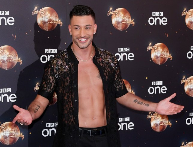 Mandatory Credit: Photo by David Fisher/REX/Shutterstock (9808991fy) Giovanni Pernice 'Strictly Come Dancing' TV show launch, BBC Broadcasting House, London, UK - 27 Aug 2018