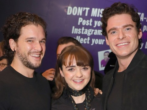 Richard Madden reunites with Game Of Thrones cast to support Maisie Williams in new play