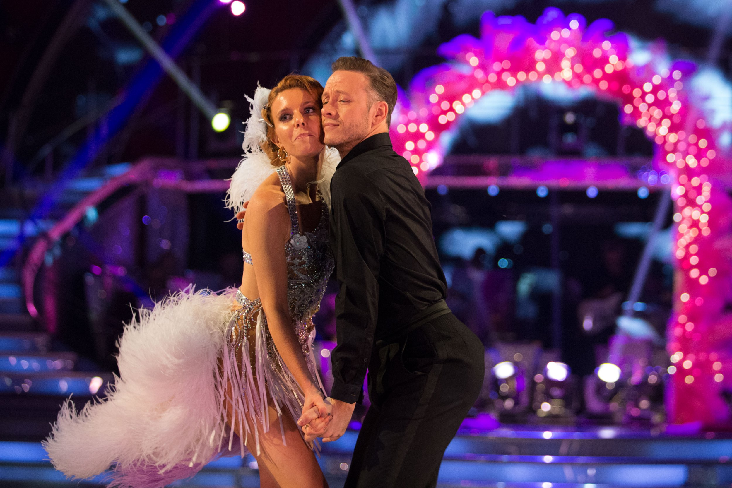 Programme Name: Strictly Come Dancing 2018 - TX: 20/10/2018 - Episode: n/a (No. n/a) - Picture Shows: ***EMBARGOED UNTIL POST TX OF EPISODE 5 20:35hrs 20th Oct 2018*** Stacey Dooley, Kevin Clifton - (C) BBC - Photographer: Guy Levy