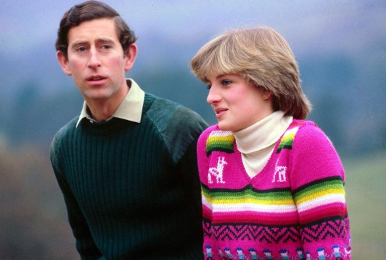 Mandatory Credit: Photo by BRYN COLTON/REX/Shutterstock (208960s) PRINCE CHARLES AND LADY DIANA SPENCER IN THE GROUNDS OF BALMORAL CASTLE SCOTLAND ON A PRE HONEYMOON - 1 MAY 1981 DIANACHARLES British Royals - 1980s
