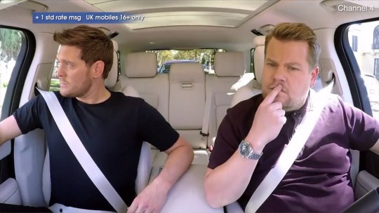 Buble talking about his son has people in tears METRO GRAB taken from: https://videos.metro.co.uk/video/met/2018/10/27/2451347262129618614/1024x576_MP4_2451347262129618614.mp4 Credit: Channel 4