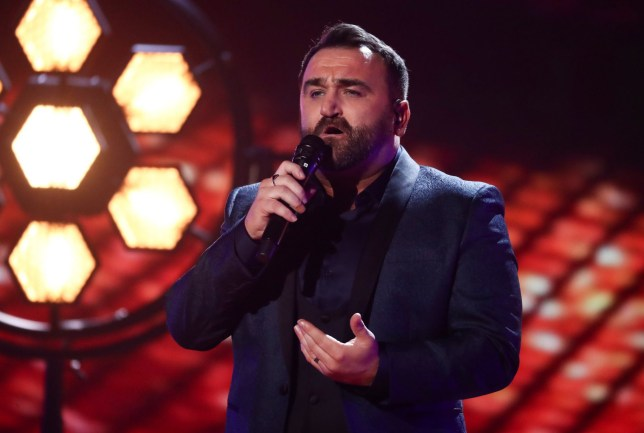 EDITORIAL USE ONLY - NO MERCHANDISING. Mandatory Credit: Photo by Dymond/Thames/Syco/REX (9942424aj) Danny Tetley 'The X Factor' TV show, Series 15, Episode 17, London, UK - 27 Oct 2018