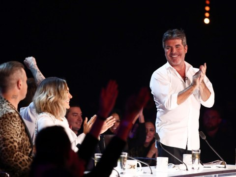 X Factor fans divided as Louis Tomlinson tells Simon Cowell to 'sit down and stop clapping' for Molly Scott