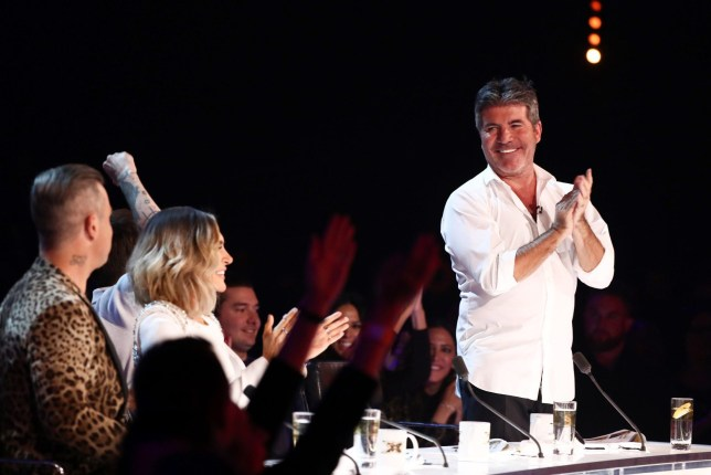 EDITORIAL USE ONLY - NO MERCHANDISING. Mandatory Credit: Photo by Dymond/Thames/Syco/REX (9942424cf) Simon Cowell 'The X Factor' TV show, Series 15, Episode 17, London, UK - 27 Oct 2018