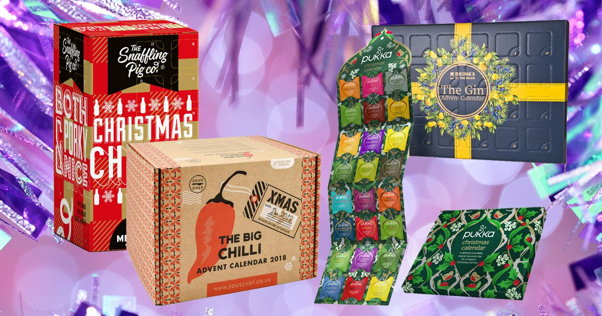 The best food and drink advent calendars for 2018 – where to get them, what's inside, and how much they cost