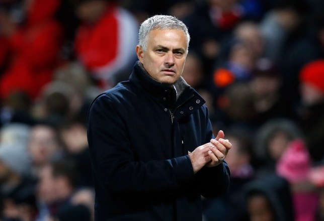 "Manchester United manager Jose Mourinho applauds the fans after the Premier League match at Old Trafford, Manchester. PRESS ASSOCIATION Photo. Picture date: Sunday October 28, 2018. See PA story SOCCER Man Utd. Photo credit should read: Martin Rickett/PA Wire. RESTRICTIONS: EDITORIAL USE ONLY No use with unauthorised audio, video, data, fixture lists, club/league logos or ""live"" services. Online in-match use limited to 120 images, no video emulation. No use in betting, games or single club/league/player publications."
