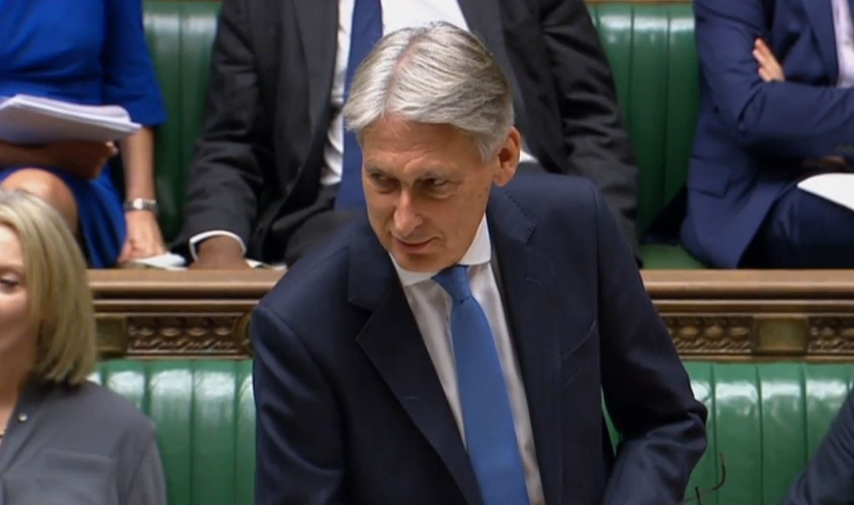 Chancellor says we'll need a new Budget if we leave EU with no deal