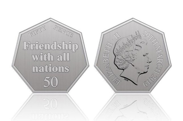 Philip Hammond will unveil a commemorative Brexit coin to mark Britain's departure from the EU, it has been reported.The Chancellor will announce details of the seven-sided 50p piece in the Budget on Monday.