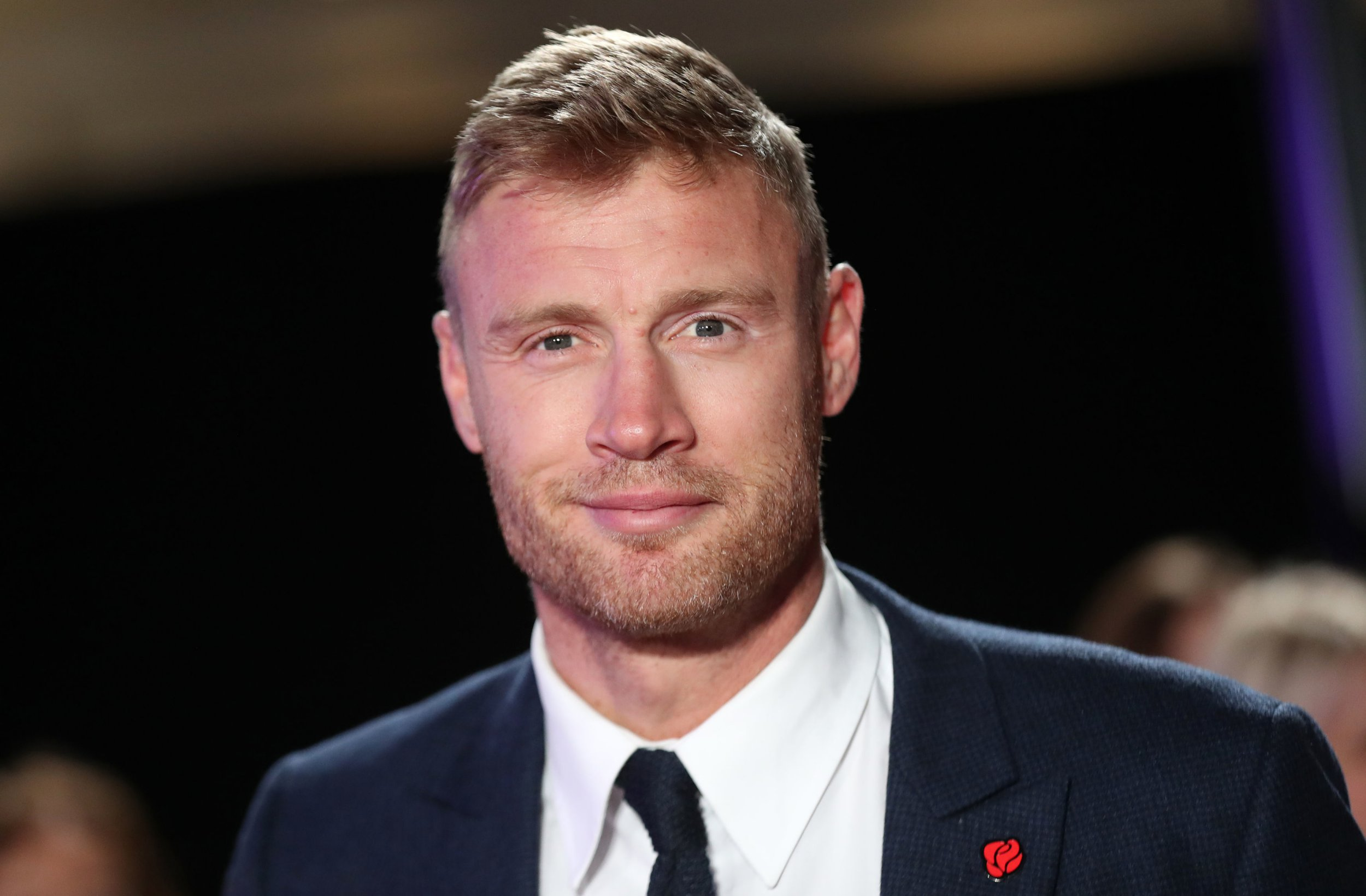 "Andrew ""Freddie"" Flintoff during the Pride Of Britain Awards 2018, in partnership with TSB, honouring the nation's unsung heroes and recognising the amazing achievements of ordinary people, held at the Grosvenor House Hotel, London. PRESS ASSOCIATION PHOTO. Picture date: Monday October 29, 2018. See PA story SHOWBIZ Pride. Photo credit should read: Steve Parsons/PA Wire"