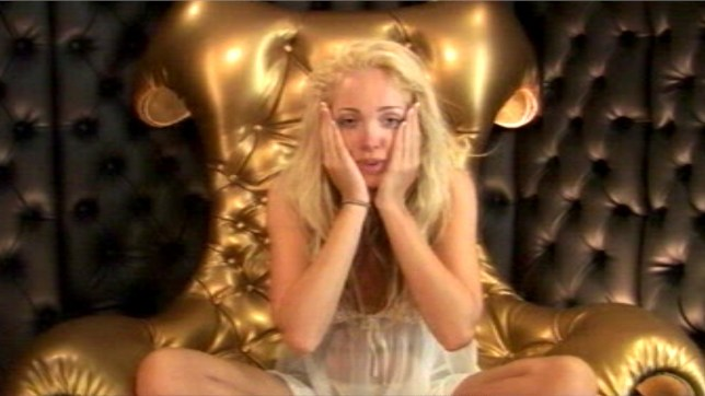 Mandatory Credit: Photo by REX/Shutterstock (592001e) Aisleyne Horgan Wallace in the diary room nominating Sam Brodie for eviction 'BIG BROTHER 7' TV PROGRAMME, BRITAIN - 06 JUN 2006