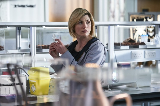 WARNING: Embargoed for publication until 00:00:01 on 28/10/2018 - Programme Name: Doctor Who Series 11 - TX: n/a - Episode: n/a (No. 4) - Picture Shows: Pre TX - Exclusive for Placement **STRICTLY EMBARGOED UNTIL 28/10/18 00:00:01 unless otherwise placed** The Doctor (JODIE WHITTAKER) - (C) BBC / BBC Studios - Photographer: Ben Blackall