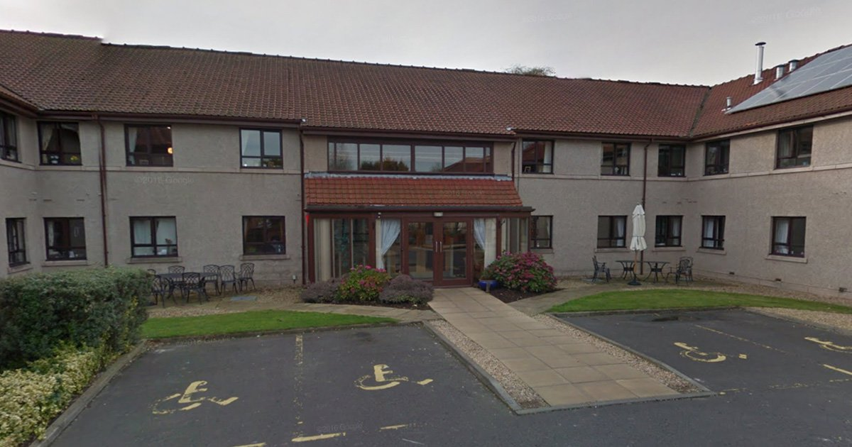 Care worker forced woman, 101, to eat biscuits from floor and attacked man by twisting his nipples Picture: Braid Hills Care Home, Edinburgh Credit: Google