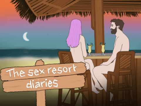 The Sex Resort Diaries: Stripping off, sex on the beach, and getting sand in all the wrong places