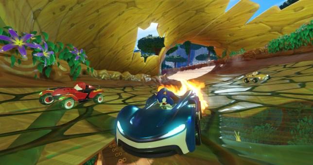 Team Sonic Racing - Sonic but not Sega racing transformed