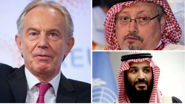 Tony Blair is complicit in war crimes and murder over Saudi Arabia deal, says Labour MP