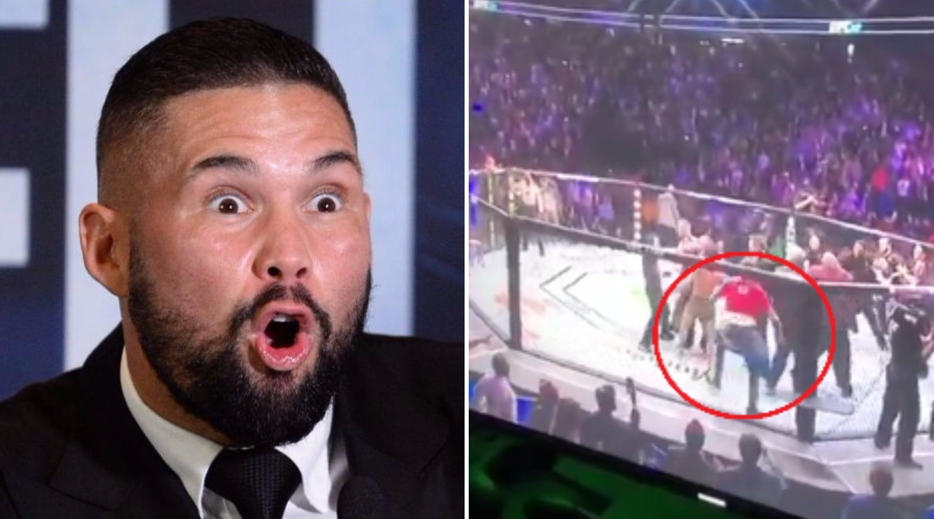 Tony Bellew orders UFC to deal with 'coward' who sucker punched Conor McGregor