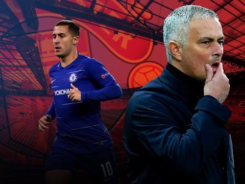 Why Eden Hazard is the biggest threat to Jose Mourinho's Manchester United reign