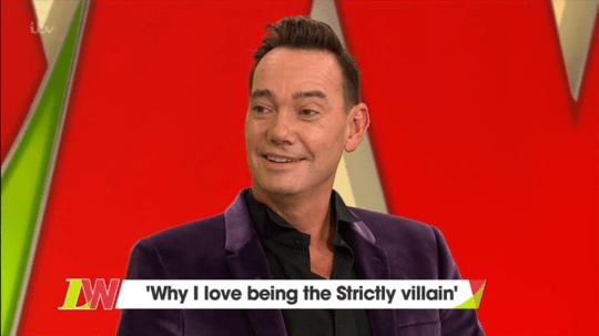 Craig Revel Horwood blasted Katya Jones over Seann Walsh kiss (Picture: ITV)