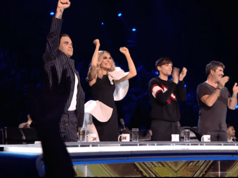 What time is The X Factor's first results show of the series on tonight?