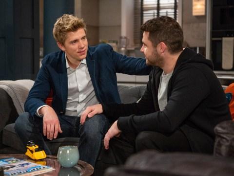 Emmerdale spoilers: Writer clarifies Robert Sugden and Aaron Dingle baby plot future