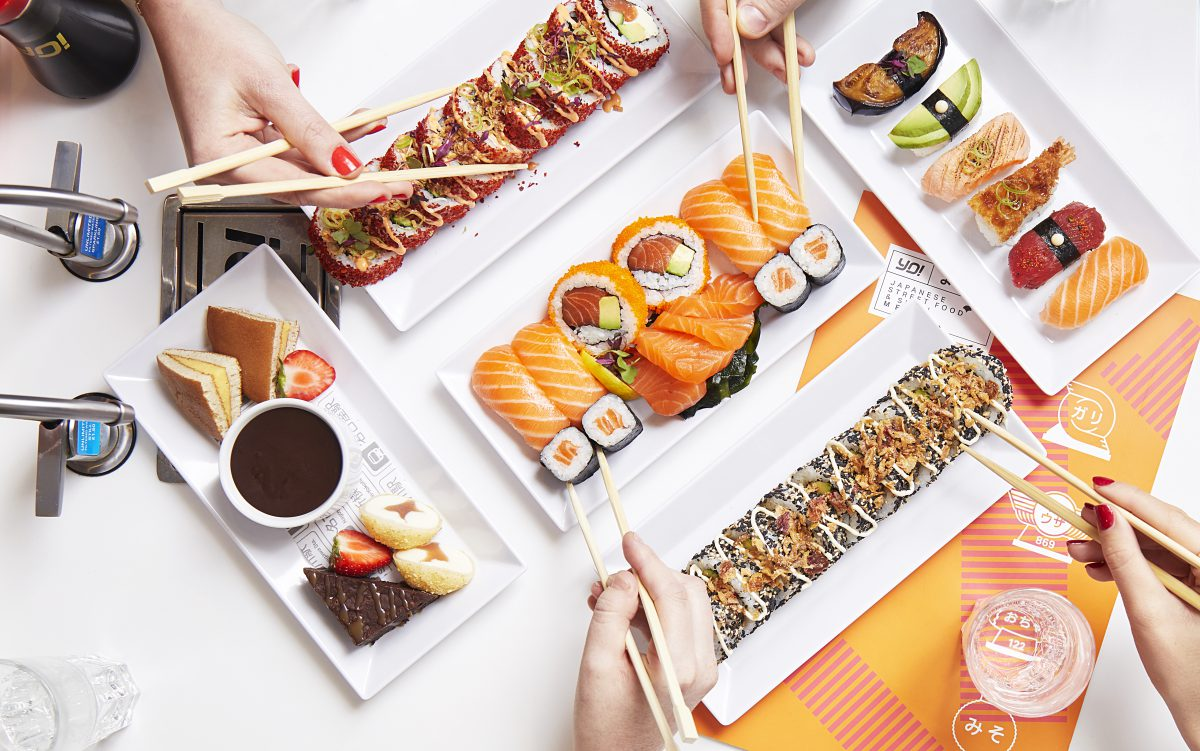 Yo! Sushi launches a huge new menu for winter