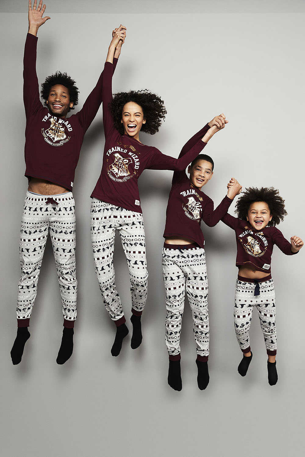 You can get matching Harry Potter pyjamas for the whole family at Primark