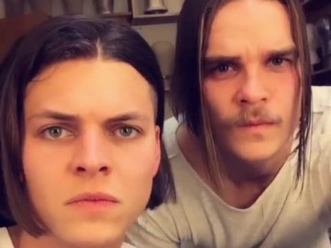 Vikings stars Alex Høgh Andersen and Marco Ilsø chop off their hair as season 6 wraps