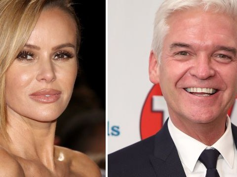 Amanda Holden 'awkwardly confronts Phillip Schofield after being snubbed' for This Morning job