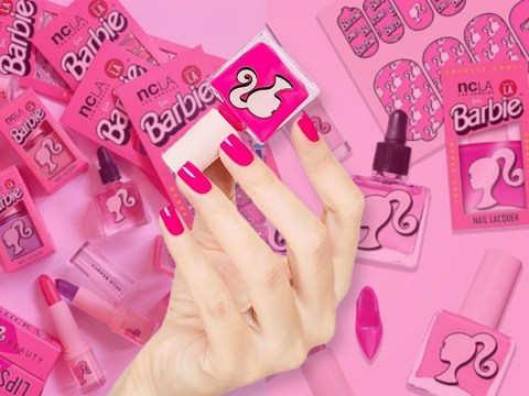 You can now buy limited-edition Barbie make up