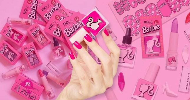 Caption: Picture: NCLA Barbie 90s themed make up Photographer: NCLA Provider: NCLA