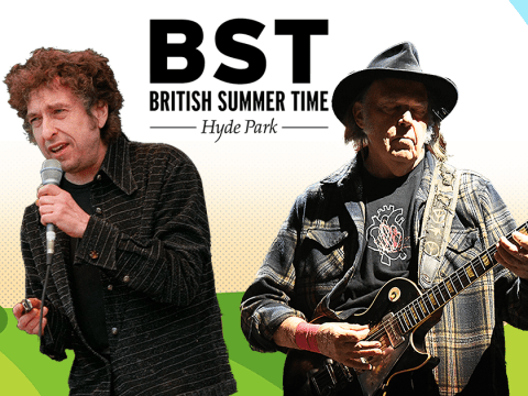 Bob Dylan and Neil Young to co-headline British Summer Time 2019
