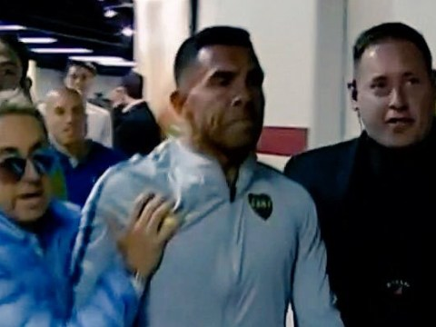 Two Boca Juniors players sent to hospital after team bus attack by River Plate fans before Copa Libertadores final