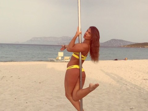 Pole dancing taught me to love and value myself