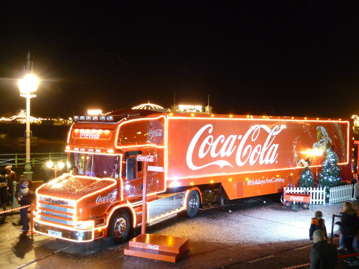 Coca Cola scales back Christmas truck visits following protests