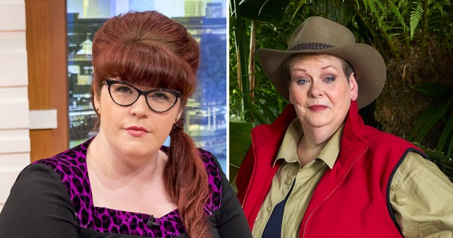 I'm a Celeb's Anne Hegerty backed by The Chase's Jenny over Asperger's Syndrome
