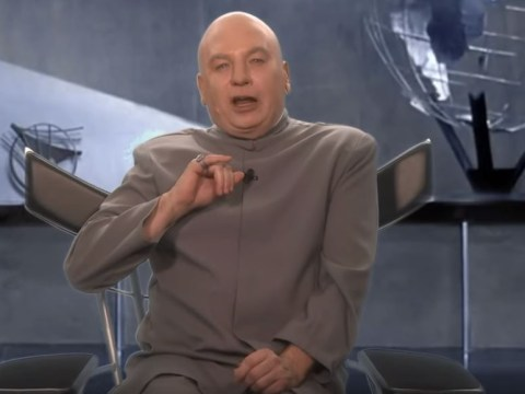 Dr Evil is running for congress, and he wants to make Baby Shark the national anthem