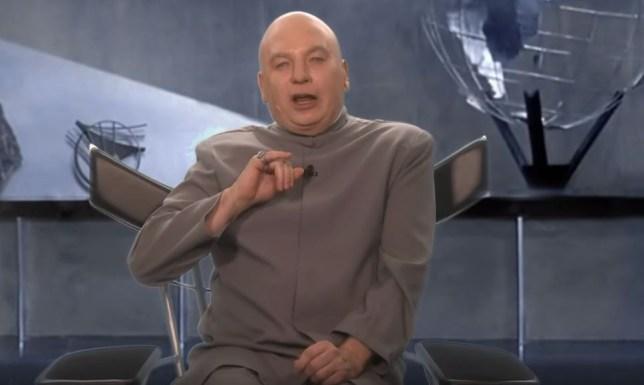 Dr Evil on Jimmy Fallon