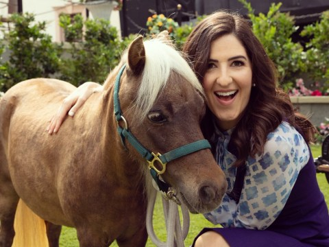 Parks and Rec's Li'l Sebastian made it into The Good Place and now our hearts are happy
