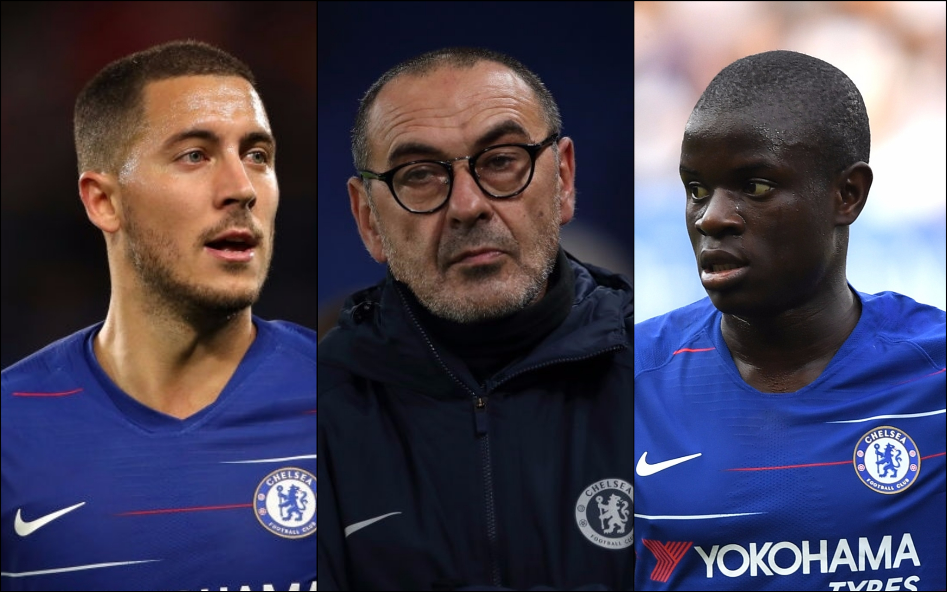 Maurizio Sarri has two 'big problems' at Chelsea involving N'Golo Kante and Eden Hazard