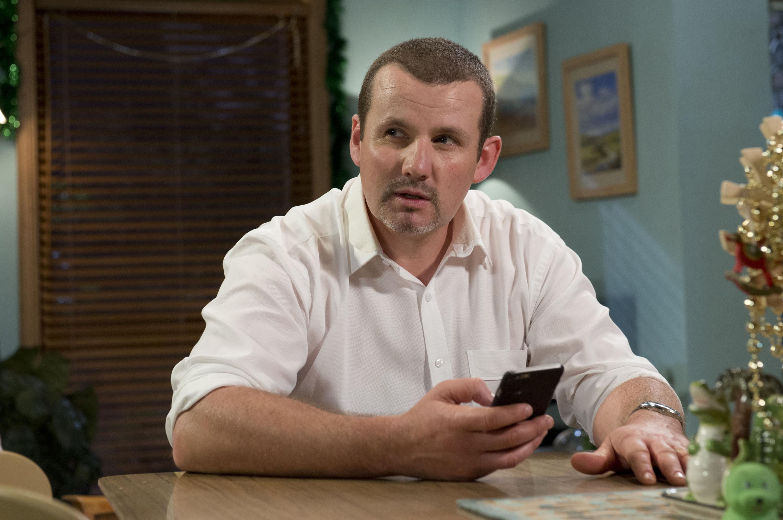 Toadie (Ryan Moloney) arrives home to huge danger