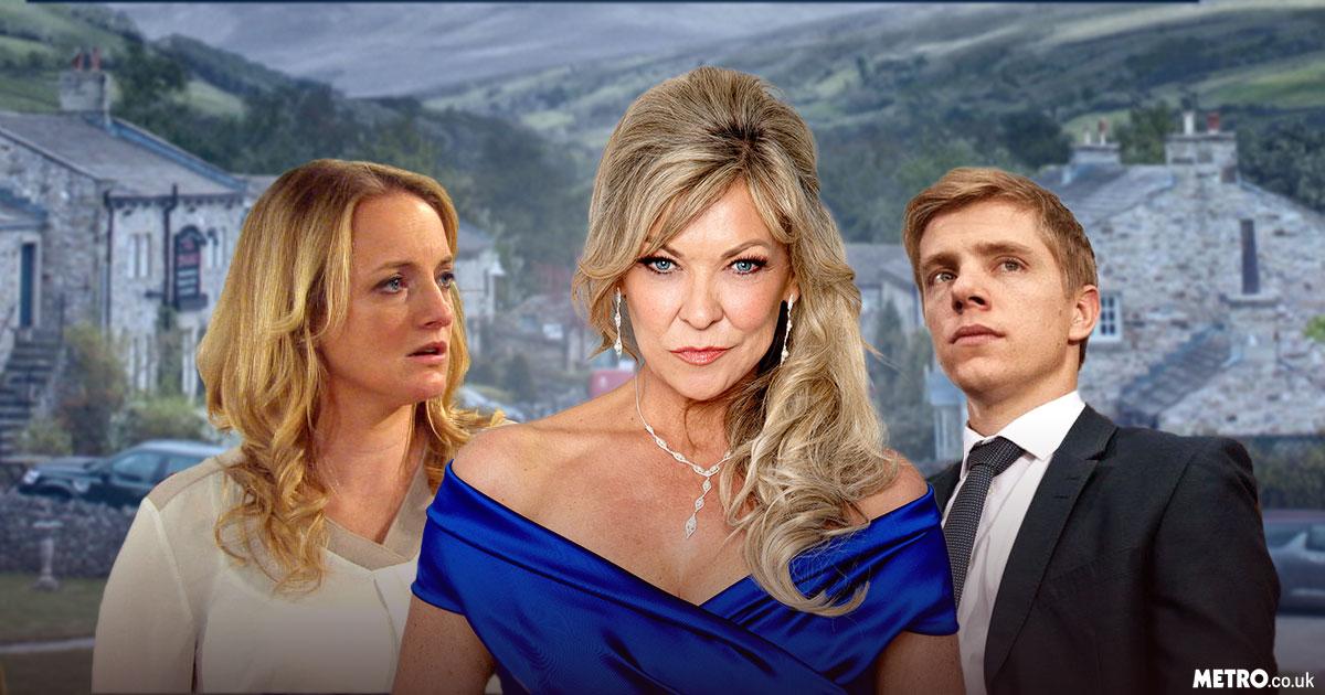 Picture: ITV, Metro.co.uk Kim Tate takes revenge in Emmerdale