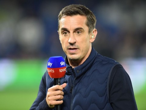 Gary Neville raves about Arsenal striker Pierre-Emerick Aubameyang ahead of Tottenham clash